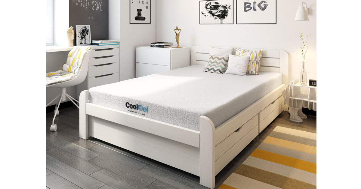 Classic Brands Cool Gel Ventilated Gel Memory Foam 8-Inch Mattress Twin image