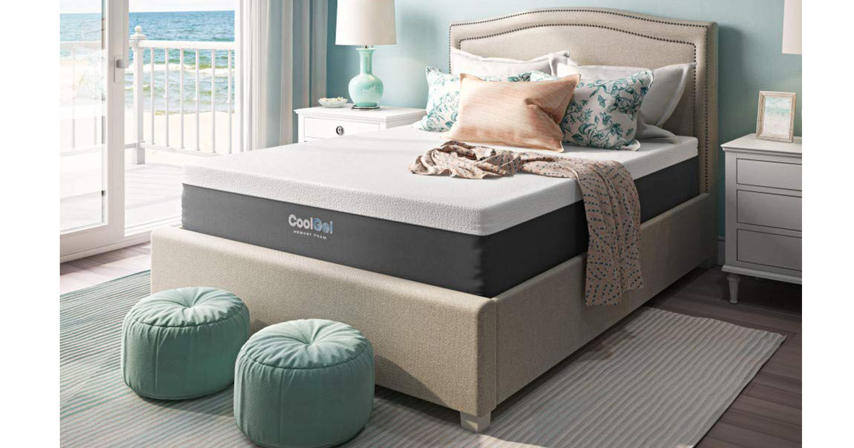 Classic Brands Cool Gel and Ventilated Memory Foam 12-Inch Mattress queen image