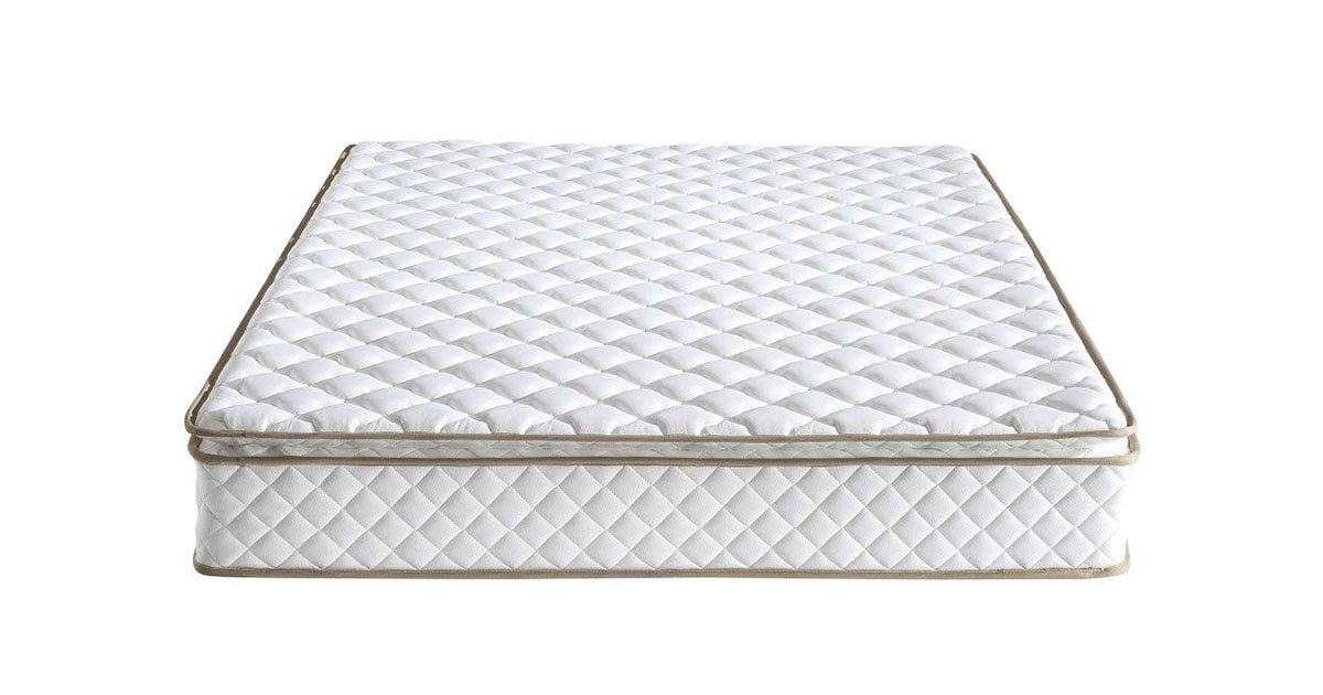 Classic Brands Individually Wrapped Coils Innerspring Pillow Top 10-Inch Mattress Queen image