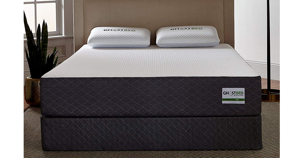 GhostBed Mattress Queen 11-Inch Cooling Gel Memory Foam Mattress image
