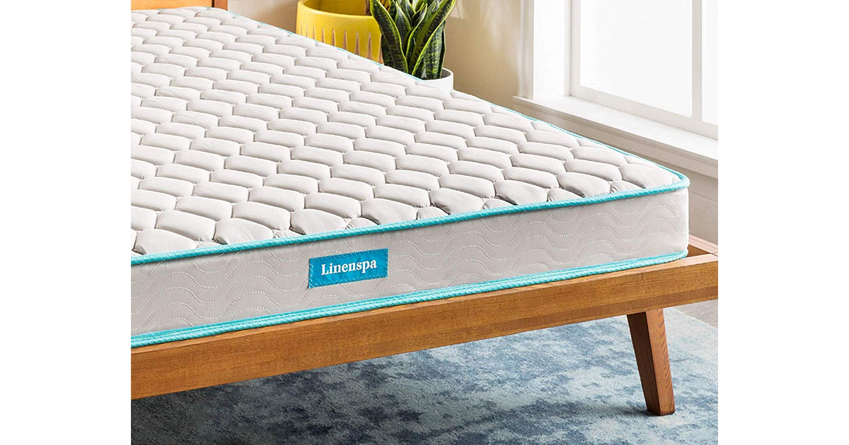 LINENSPA 6 Inch Innerspring Mattress Twin XL image
