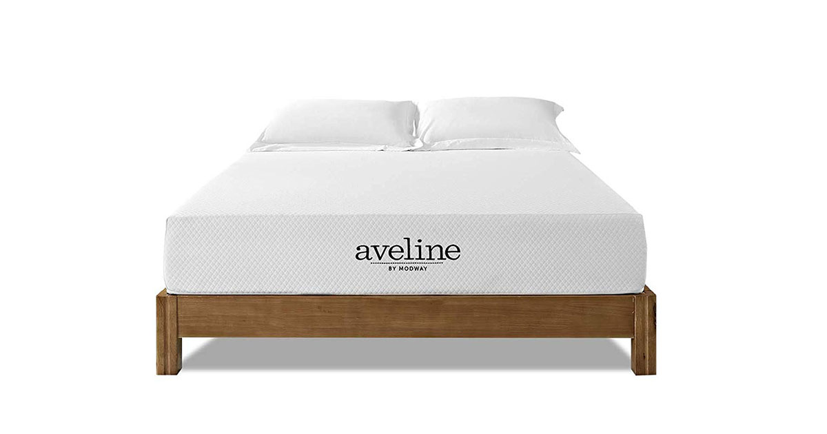 Modway Aveline 10 Gel Infused Memory Foam full Mattress image