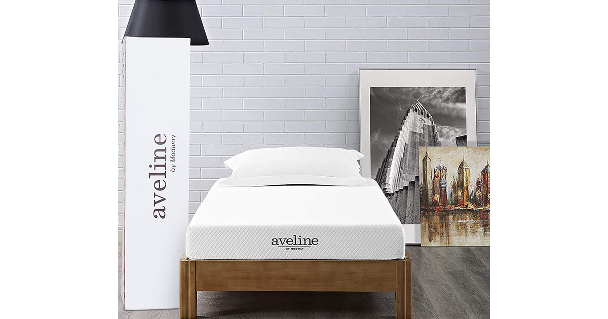 Modway Aveline 6 Gel Infused Memory Foam Twin Mattress image