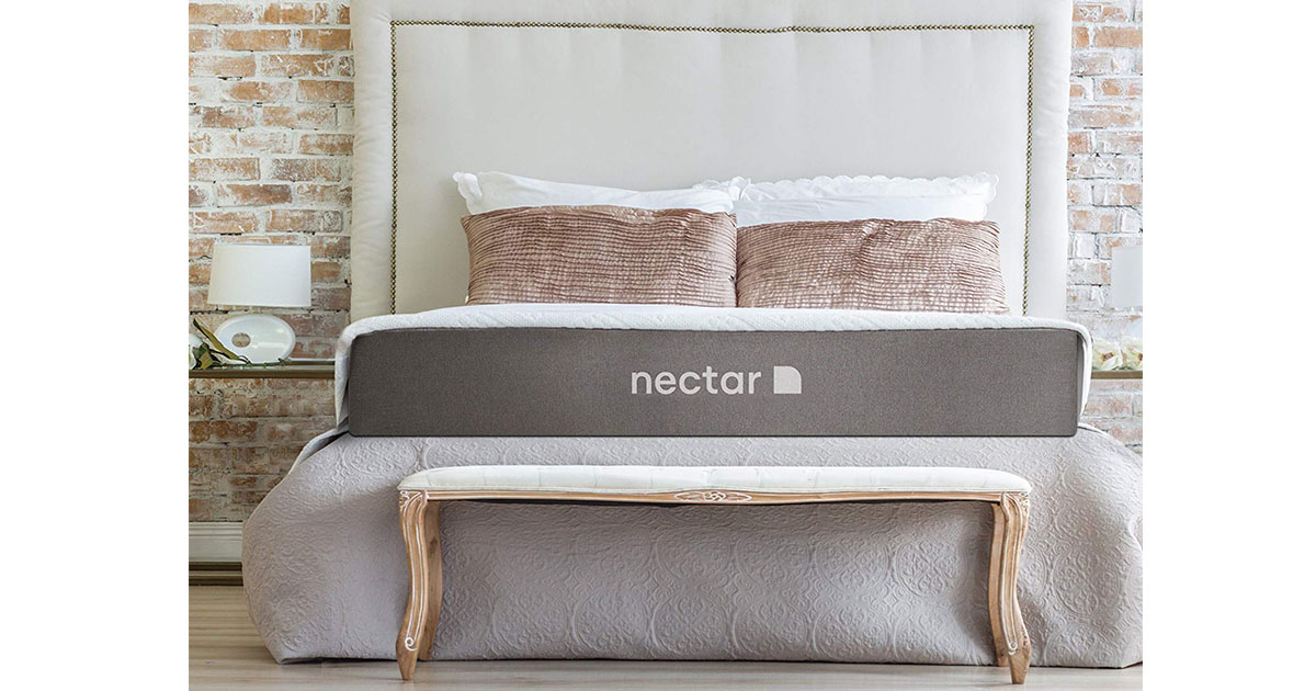 Nectar Queen Mattress 2 Free Pillows Gel Memory Foam image
