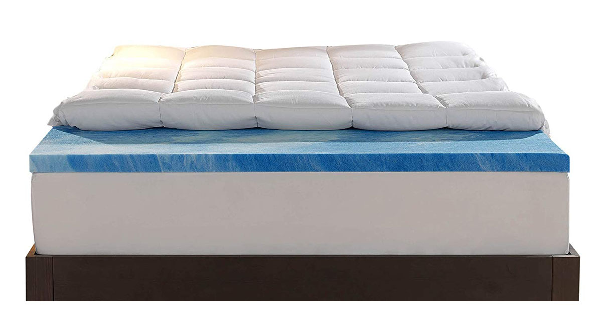 Sleep Innovations Gel Memory Foam 4-inch Dual Layer Mattress queen size image