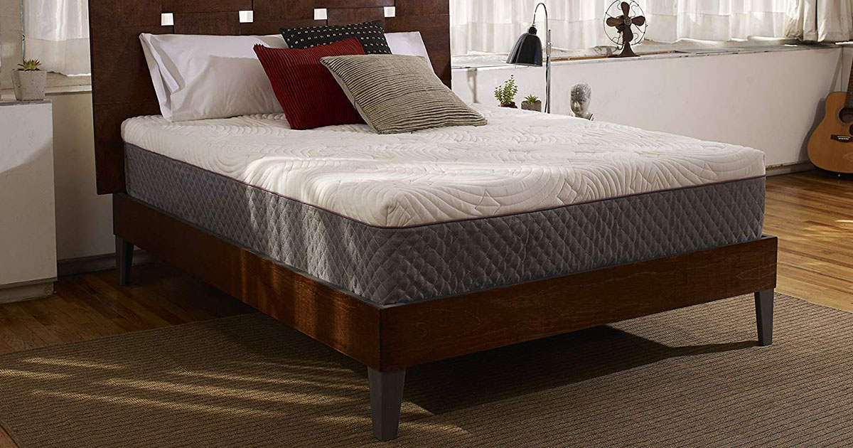Sleep Innovations Shiloh 12-inch Memory Foam Mattress California King Size image