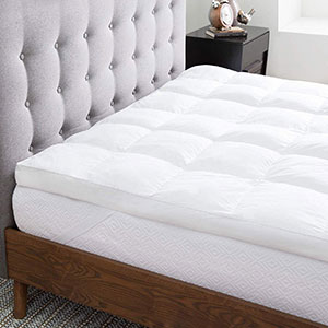 cotton mattress toppers image