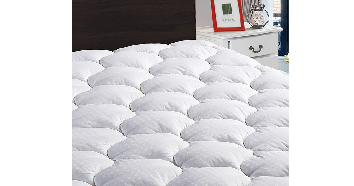 Full XL Mattress Pad Cover Cooling Mattress image