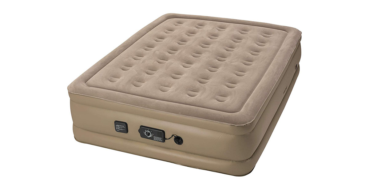 Insta Bed Raised Air Mattress with Never Flat Pump image