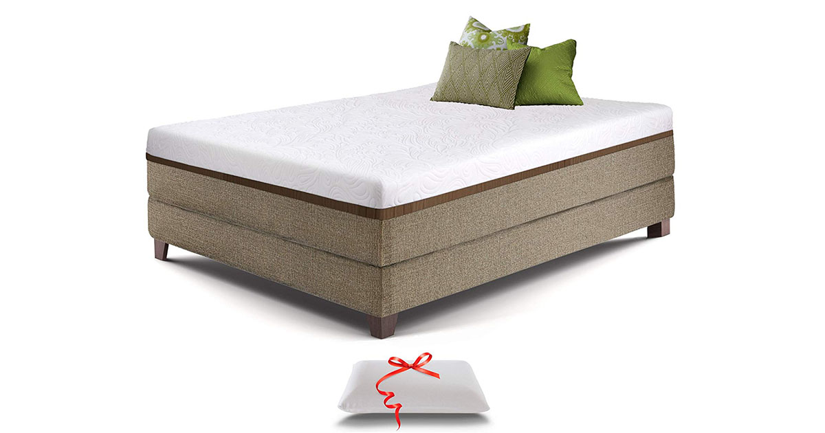 Live and Sleep Resort Ultra Bed in Box 12-Inch Cooling Gel Memory Foam Mattress image