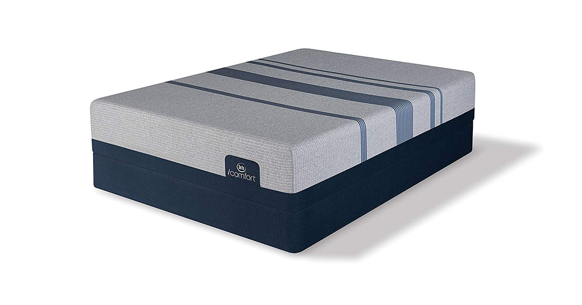 SERTA iCOMFORT BLUE MAX 1000 FIRM KING MATTRESS image