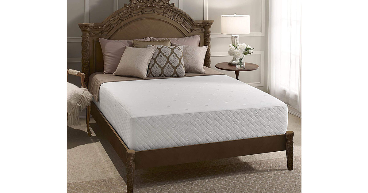 Serta 12-Inch Gel Memory Foam Mattress king size image