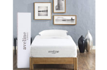 "Modway Aveline 10"" Twin Mattress – Get Perfect Sleep with its Gel Infused Memory Foam"