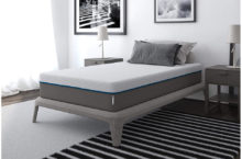 "Signature Sleep 10"" Charcoal-Gel Memory Foam Mattress – Full Comfort & Affordable"
