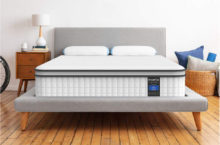 Inofia 10-inch Responsive Memory Foam Mattress – Cool Hybrid Innerspring Mattress