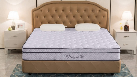 Vesgantti 10.2 inch Multilayer Mattress – Buy Comfortable Ergonomic Mattress @ best price